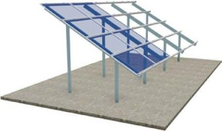 Photovoltaic PV Panel Mounting Systems , Stainless Steel Ground Mounted PV Systems
